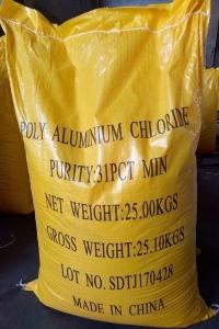 Hóa Chất Xử Lý Nước Thải Poly Aluminum Chloride